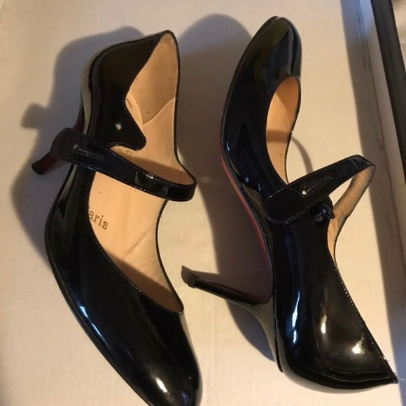 low priced 32df9 1ea0e Christian Louboutin Mary Jane Heels